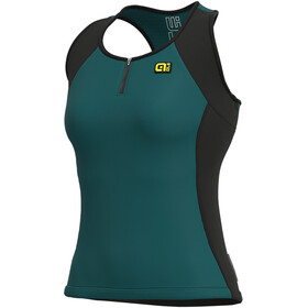 Alé Cycling Solid Color Block Tanktop Dames, lagoon